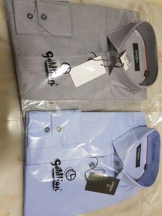🚚 Goldlion trim fit long sleeve shirt / L Size