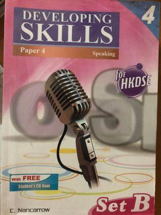 Developing Skills Paper4 Speaking Set B