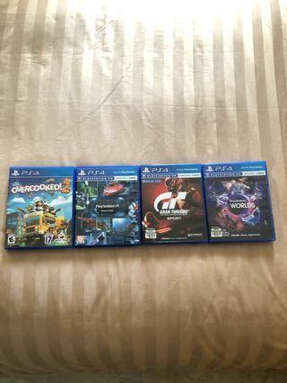 🚚 PS4 Games