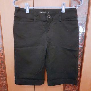 net 黑色五分褲