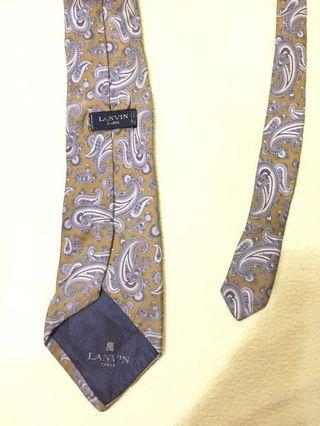 Authentic lanvin paisley made in france