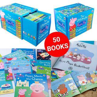 Peppa Pig 英文圖書大合輯 (50本)