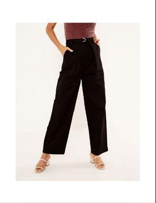 BRAND NEW glassons belted wide leg pants