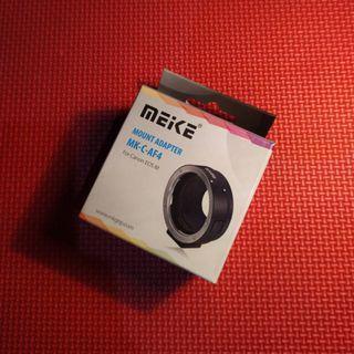 Adapter Autofokus Meike untuk Mirrorless Canon