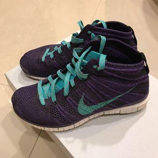 🚚 Nike Flyknit chukka 紫色