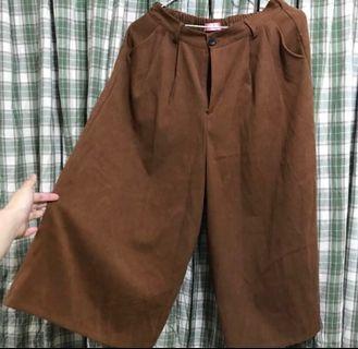 🌰栗子色寬褲