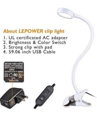 Clip Desk Lamp
