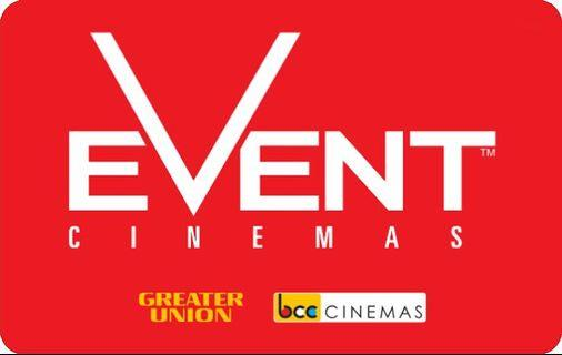 EVENT CINEMA MOVIE TICKET VOUCHER CREDIT EXPIRING SOON