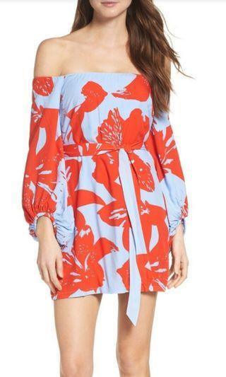 Bardot off the shoulder dress #junepayday60