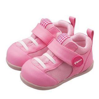 🚚 正品💖現貨12.5cm💖貝親2階學步鞋-桃粉色