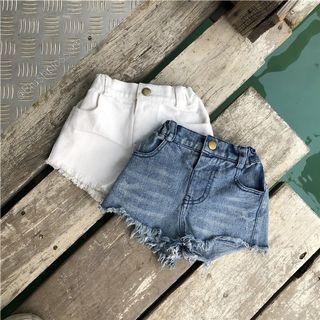 ⭐INSTOCK⭐ Candy Unisex Ripped Denim Shorts
