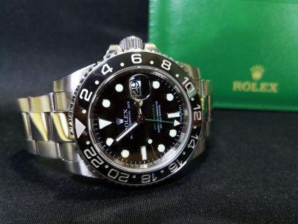 Rolex GMT Master II V series 116710LN