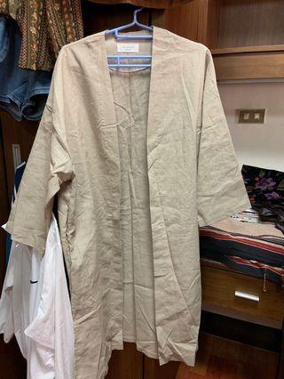 🚚 🇰🇷代購的棉麻外套$400只有兩天 後天恢復原價$599