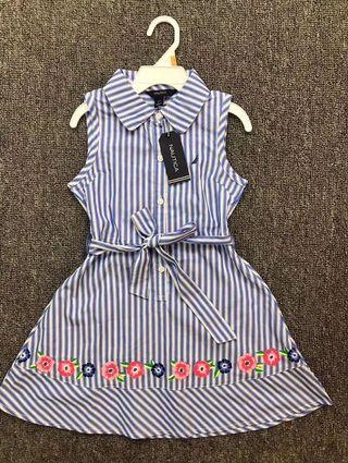 Nauticus Striped Dress (Kids)