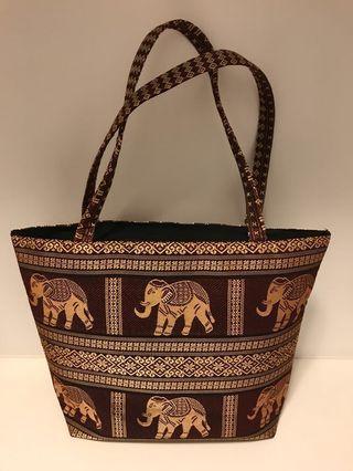泰國大象肩背包Thailand elephant shoulder bag