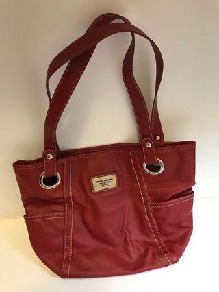 Relic紅色肩背包 red shoulder bag