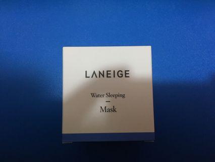 全新 Laneige Water Sleeping Mask 皇牌睡眠面膜