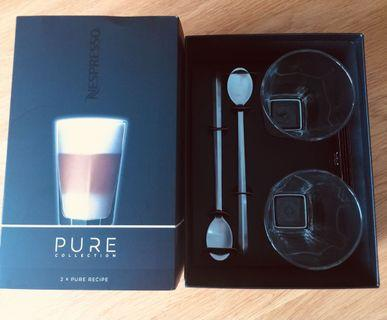 New Nespresso Pure Collection glasses