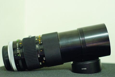 Canon FD 80-200mm f4 S.S.C附轉接環For Sony E卡口(a6000 a6300 a6400 a6500 a7 a72 a73)