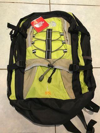 North Face YAIZA 55L hiking rucksack back pack 後背包