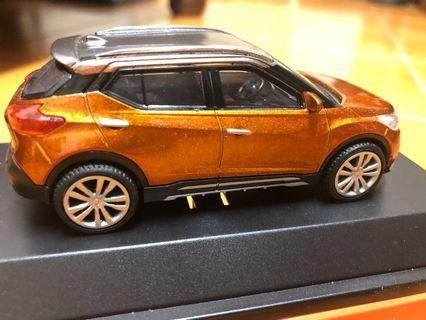 Nissan kicks 模型車