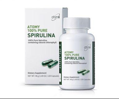 🚚 Atomy 100% Pure Spirulina
