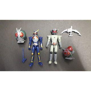 幪面超人鎧武 Kamen Rider  (1號+Kamen Rider Sigurd)食玩 盒蛋( shf , 裝動 , 創動 ,掌動 )適合重新上色