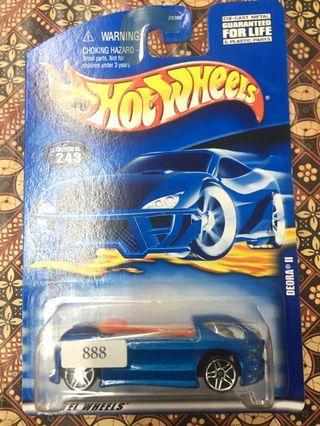 Hotwheels Deora Blue