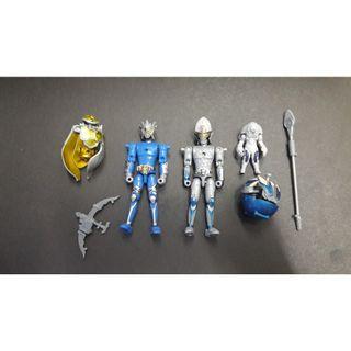 幪面超人鎧武 Kamen Rider  (Kamen Rider Duke+Kamen Rider Kamuro)食玩 盒蛋( shf , 裝動 , 創動 ,掌動 )適合重新上色