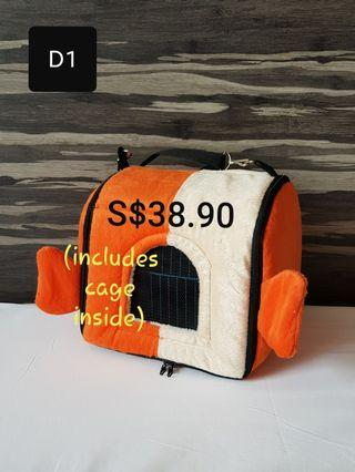 Bird Carrier Sling Bag (Design D1)