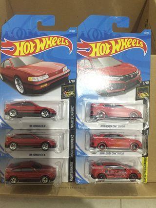Hot Wheels Paket 6 pcs