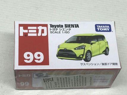 Tomica Regular Toyota Sienta