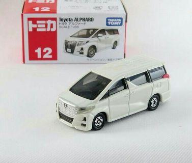 Tomica Regular Toyota Alphard
