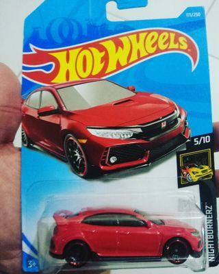 Hot Wheels Honda Civic Type R 2018