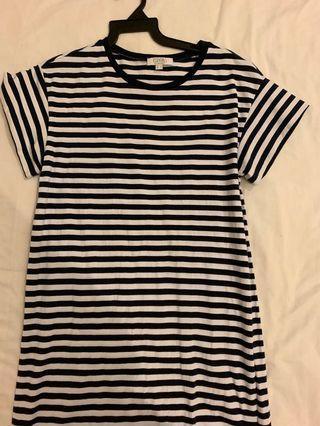 BN love Bonito striped t shirt dress