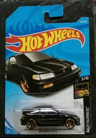 Hotwheels Honda CR-X black
