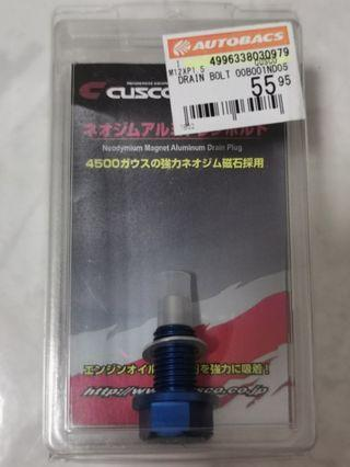 Cusco Magnetic Drain Nut with washer (M12 x P1.5)