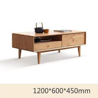 BN Teak Coffee Table with Drawers