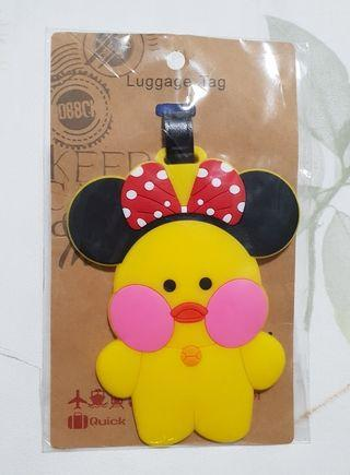 Yellow Duckie Luggage Tag