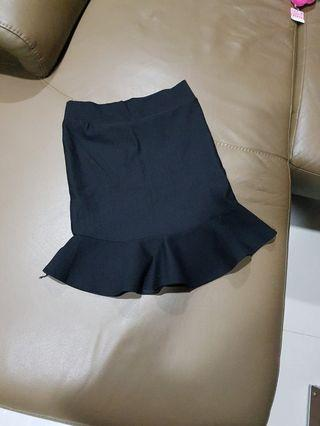 Black Mermaid Skirt new