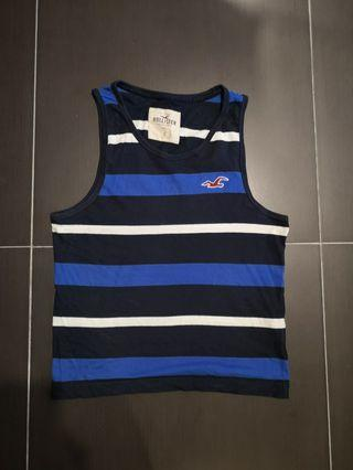 HOLLISTER (BY ABERCROMBIE) STRIPED VESTS SIZE SMALL