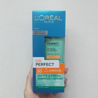 L'Oreal UV Perfect Matte & Fresh SPF 50/PA++++
