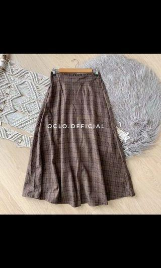 Rok Flanel Brown