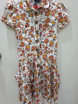 MNG Floral Dress