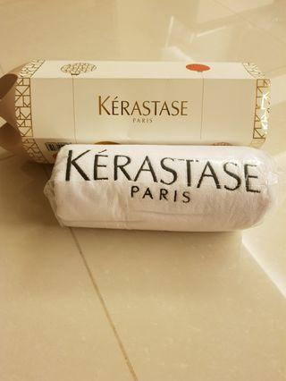 Keratase bath towel
