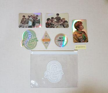 NCT Dream Pouch & Stickers