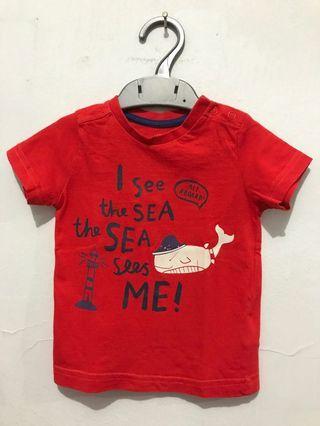Kaos Mothercare Merah