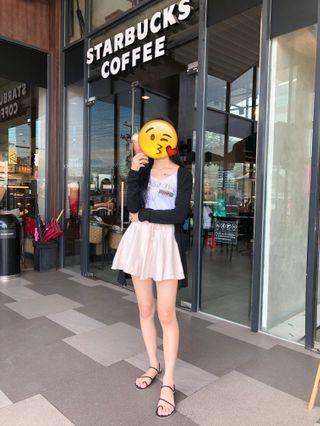 🚚 杏色褲裙