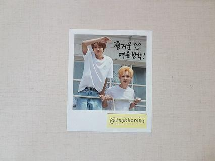 NCT Dream Renjun & Chenle Polaroid