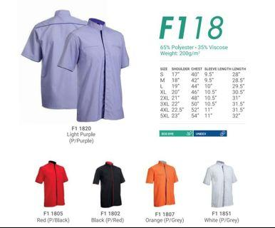 Corporate Shirt for Men F1 18 - by Oren Sport